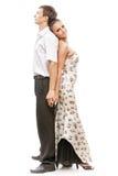 美好的年轻舞蹈家夫妇 免版税库存照片