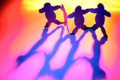 тучные люди Стоковая Фотография