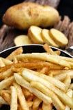 炸薯条 库存照片