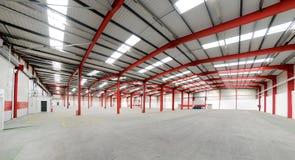 Вакантный интерьер склада Стоковая Фотография RF