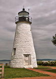 一致在格雷斯港,马里兰的点灯塔 免版税库存照片