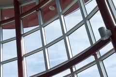 透明的窗口 免版税库存图片