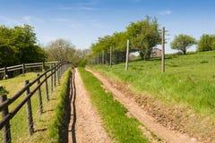 След сельской местности Стоковая Фотография RF