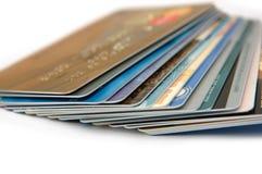 кредит карточек Стоковое Изображение RF