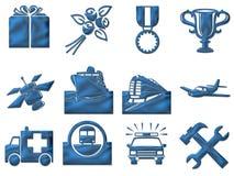 符号旅行 免版税库存图片
