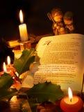 圣诞节故事 库存照片