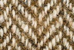 羊毛被编织的背景特写镜头 免版税库存图片