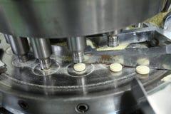 配药机器操作 图库摄影
