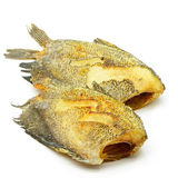 被油炸的鱼 库存图片