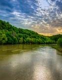 坎伯兰河 库存照片