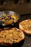 Пироги сливы Стоковые Изображения RF