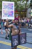 旧金山同性恋自豪日 库存照片