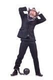Надеванный наручники бизнесмен Стоковая Фотография RF