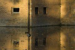 城堡墙壁 免版税库存照片