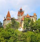 麸皮城堡,罗马尼亚 免版税库存图片