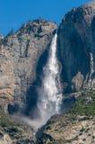 优胜美地瀑布,加利福尼亚,美国 免版税库存照片