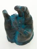 Γλυπτό χεριών που παρουσιάζει πνευματικό σύμβολο Στοκ φωτογραφίες με δικαίωμα ελεύθερης χρήσης