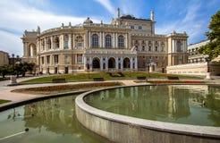 Όπερα Οδησσός Στοκ εικόνα με δικαίωμα ελεύθερης χρήσης