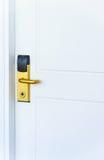 电子门锁 免版税库存照片