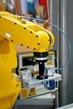 机器人的现有量 库存图片