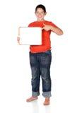 年轻白种人男孩 库存图片