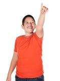 年轻白种人男孩 免版税库存图片