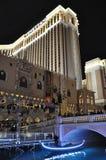 威尼斯式度假旅馆赌博娱乐场在拉斯维加斯 免版税图库摄影