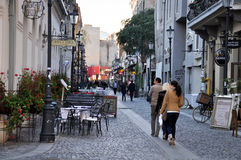 Городок Бухареста старый Стоковое фото RF