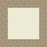 蜻蜓方形的框架 免版税库存照片