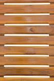 Высекать стула задний деревянный. Стоковое Изображение RF