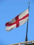 σημαία Γένοβα Στοκ φωτογραφία με δικαίωμα ελεύθερης χρήσης