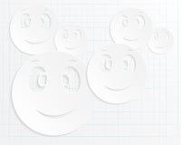 微笑抽象背景  库存照片