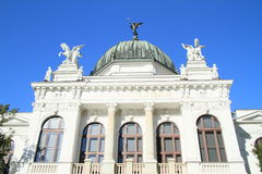 博物馆在奥帕瓦河 免版税库存图片
