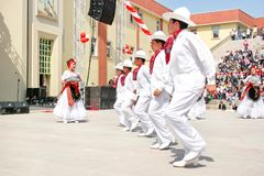 墨西哥舞蹈 库存照片