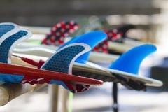 水橇板飞翅 免版税库存图片