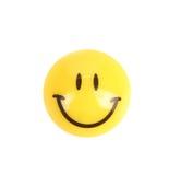 微笑按钮。 库存照片