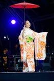 Японская гейша Стоковое Фото