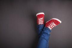 Ноги принципиальной схемы Стоковые Фотографии RF