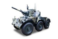 一辆退休的军事坦克 库存照片