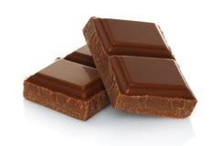Σπασμένος φραγμός σοκολάτας Στοκ εικόνα με δικαίωμα ελεύθερης χρήσης