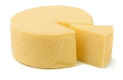 乳酪轮子 免版税库存照片