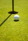 俱乐部高尔夫球 免版税库存照片