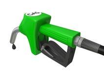 加油泵喷管 免版税图库摄影