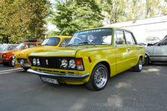 波兰经典汽车 免版税图库摄影