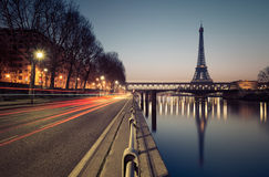 Πύργος του Άιφελ στο Παρίσι, Γαλλία Στοκ Εικόνες