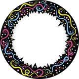 междукадровые штрихи круглые Стоковое Изображение RF