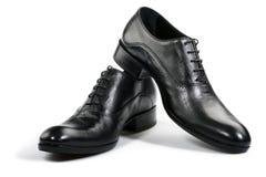 黑色鞋子 库存图片