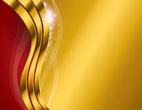 Χρυσό αφηρημένο υπόβαθρο Στοκ φωτογραφία με δικαίωμα ελεύθερης χρήσης