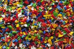 回收塑料 免版税库存图片