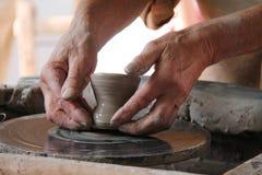 Глиняный горшок. Стоковая Фотография